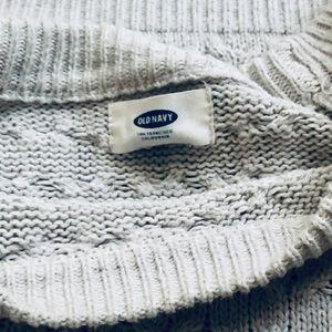Old Navy Sweaters - Grey Scoop neck sweater